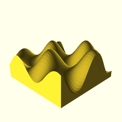 OpenSCAD linux ppc64 gallium-0.4-on hvub regression throwntogethertest surface-tests-expected