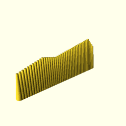 OpenSCAD win 586 ati-radeon-x300 hdrv regression opencsgtest example019-expected