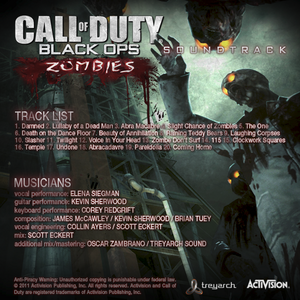 CoD BO Zombies Soundtrack Back
