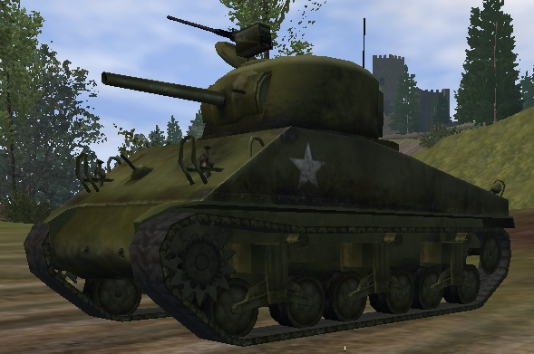 File:M4 Sherman front view UO.png