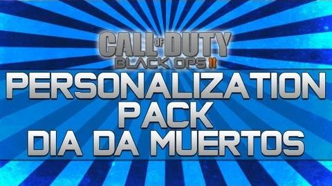 Black Ops 2 - Personalization Pack Dia da Muertos!! (Camo, Reticle and Calling Card)