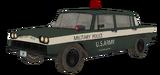 Military Police Car model BO