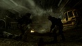 Price and Sandman fighting off enemy forces Down the Rabbit Hole MW3.png