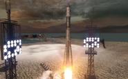 Soyuz 1 taking off Executive Order BO