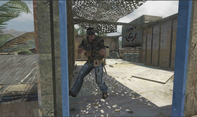 File:AdvancedRookie Firing Range Op40 soldier aiming Commando Dual Mags Acog.png