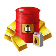 Gold and Oil menu icon CoDH