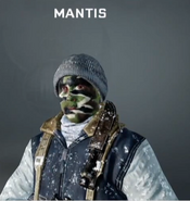 Mantis Face Paint BO