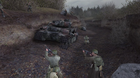 File:Call of Duty Russian soldiers shooting at Waffen-SS.jpg