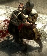Reznov avenging Dimitri WaW