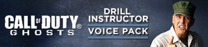 Drill Instructor Voice Pack DLC banner CoDG