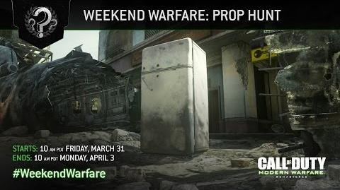 Call of Duty Modern Warfare Remastered - Prop Hunt