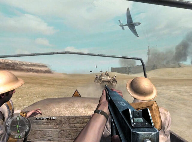 File:Junkers 87 over British convoy CoD2.jpg