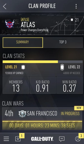 File:COD AW (app) Clan Profile - Summary - Full View.png