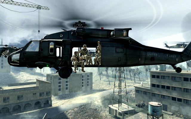 File:Marines in UH-60 Charlie don't Surf COD4.png