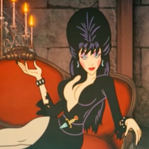 Elvira in IW DLC3 intro