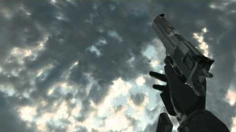 Desert Eagle Demonstration - Call of Duty 4