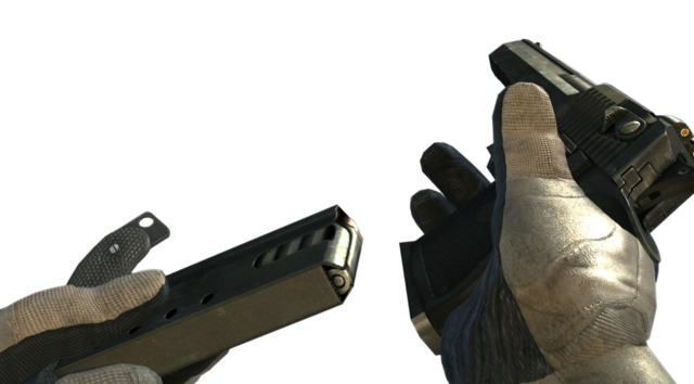 File:Desert Eagle Tactical Knife reloading MW3.png