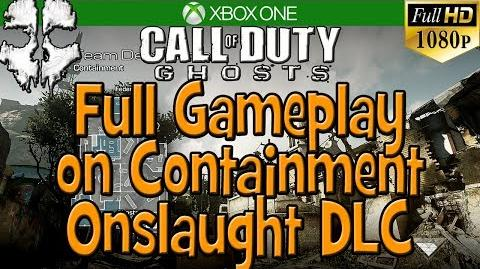 Full Gameplay w New Maverick AR on New Map Containment - COD Ghosts Onslaught DLC EARLY