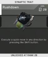 Rushdown Unlock Card IW