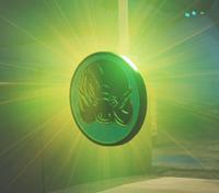 Souvenir Coin Green IW