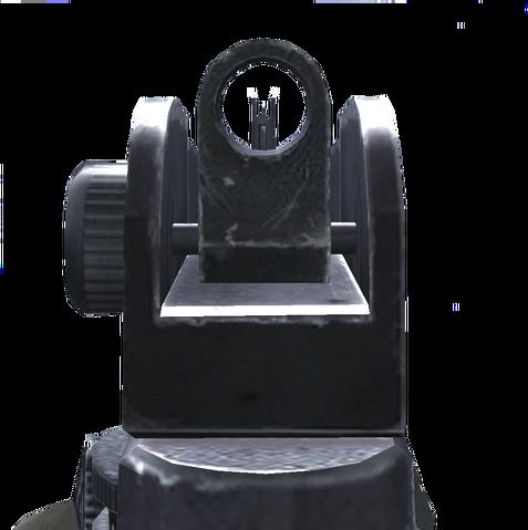 File:M4A1 Iron Sights CoD4.png