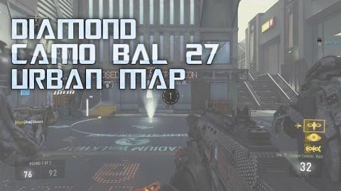 Cod AW Urban Map Diamond Bal 27 Gameplay