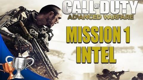 Call of Duty Advanced Warfare - All Intel Locations - Mission 1