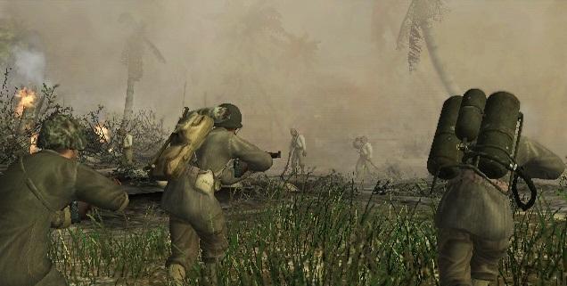 File:Marines storming enemy position Little Resistance.jpg