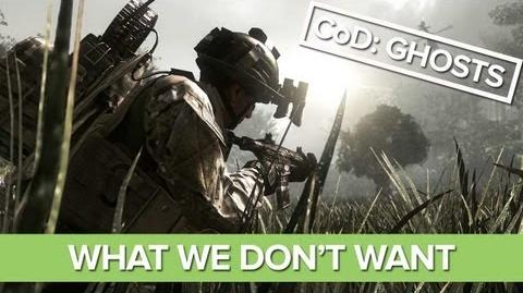 Call of Duty Ghosts - 7 Things We Don't Want