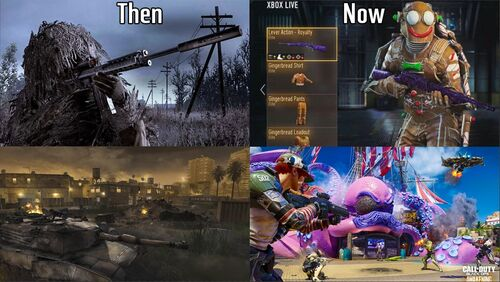 Personal Super Gamer Ghost Then and Now