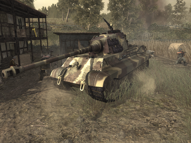 File:Side view Tiger II.png
