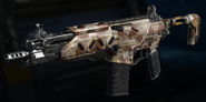 Peacekeeper MK2 Gunsmith Model Heat Stroke Camouflage BO3
