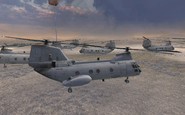 CH-46 Seaknight Enemy of My enemy MW2