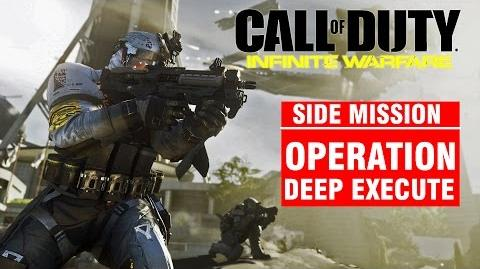 Call of Duty Infinite Warfare Side Mission - Operation DEEP EXECUTE Campaign Gameplay Walkthrough