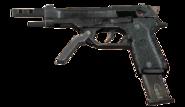 M93 Raffica 3rd person MW2