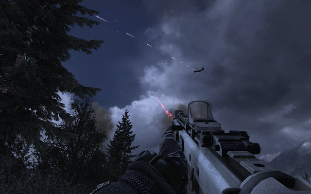File:AC-130 firing 25mm Overwatch MW2.png