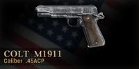 Colt M1911 Menu Icon CoD3