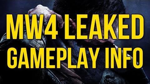 "MW4 Leaked Gameplay Info Sledgehammer Games' Call of Duty ""Black Smith"" Leak Reveal"