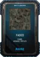 Faded Camo Supply Drop Card MWR