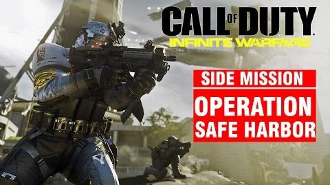 Call of Duty Infinite Warfare Side Mission - Operation SAFE HARBOR Campaign Gameplay Walkthrough