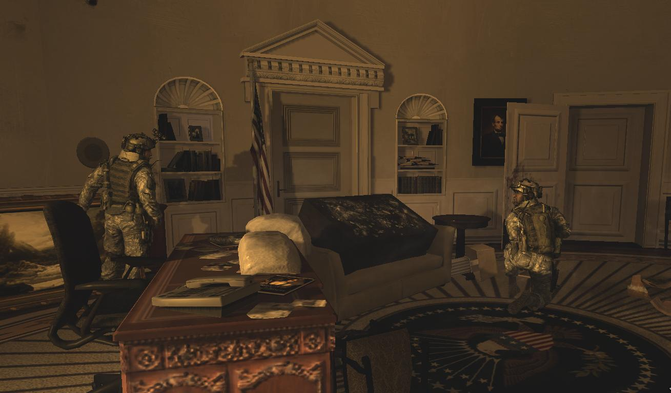 Image Dunn and Foley at the Oval Office MW2png Call of Duty