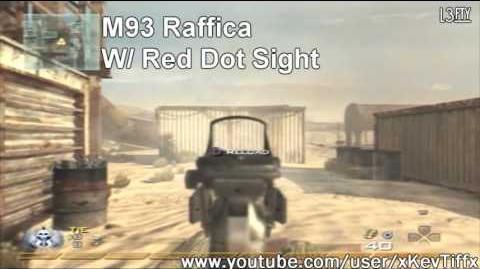 Call of Duty® Modern Warfare 2 - M93 Raffica Machine Pistol Attachments Guide (All Attachments)