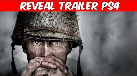 Call of Duty WWII Reveal Trailer 2017 PS4