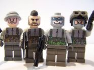 Lego MW2 characters