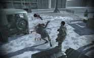 Zakhaev getting shot Pripyat MW3