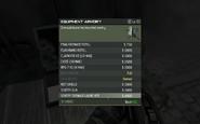 MW3 Sentry Grenade Launcher Menu Screen