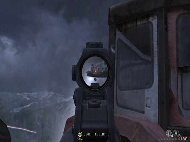 File:Taking out chopper gunner Hunted CoD4.jpg