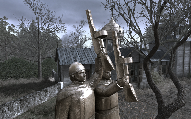 File:PPSh-41s held by statues All Ghillied Up COD4.png
