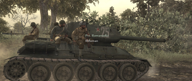 File:Red Army Soldiers Riding On T-34 WaW.png