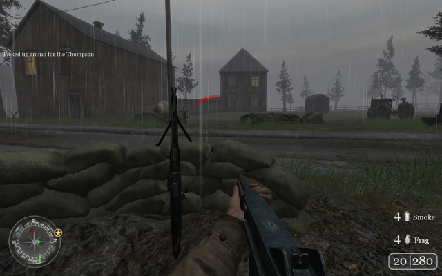 File:Troops positioned near sandbags Approaching Hill 400 CoD2.png